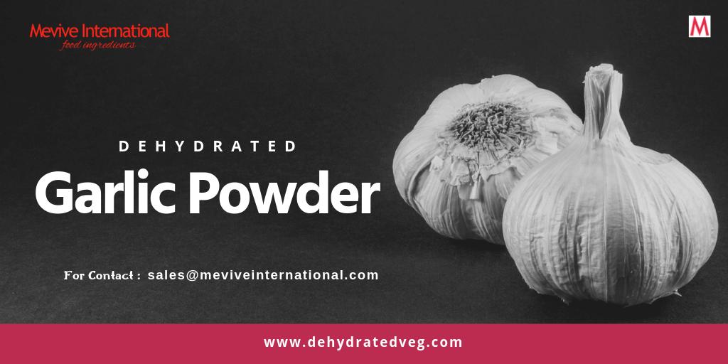 Dehydrated Garlic powder Supplier in india | Dehydratedveg com