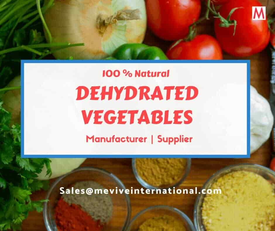 Dehydrated Vegetable Flakes - Manufacturers, Suppliers in India