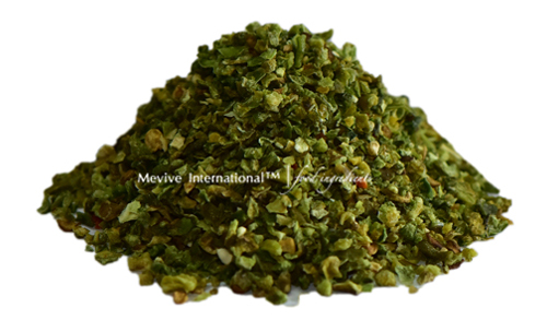 Dehydrated Capsicum Green with White